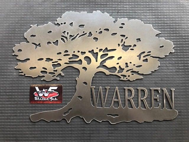 Image of Oak Tree Sign