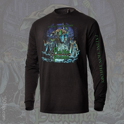 "Image of Pick Axe Preacher ""Extinction Theory"" Longsleeve Tee"