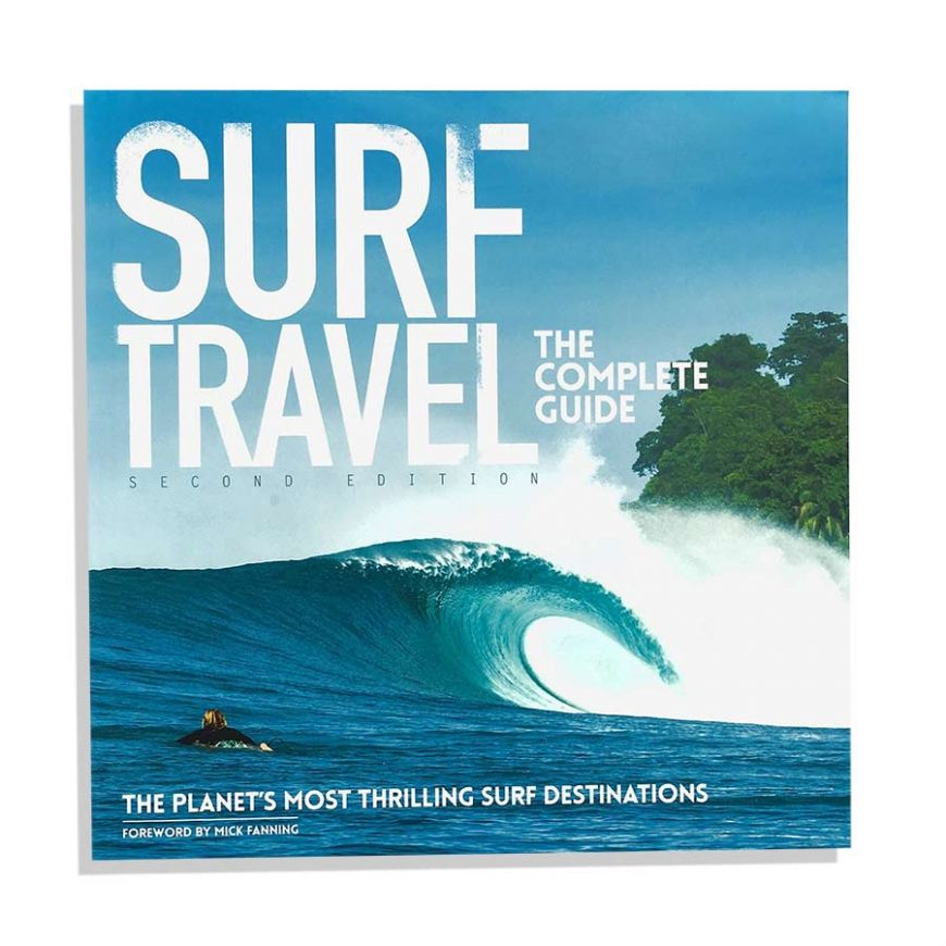 LIBRO SURF TRAVEL THE COMPLETE GUIDE & THE LONGBOARD TRAVEL GUIDE....
