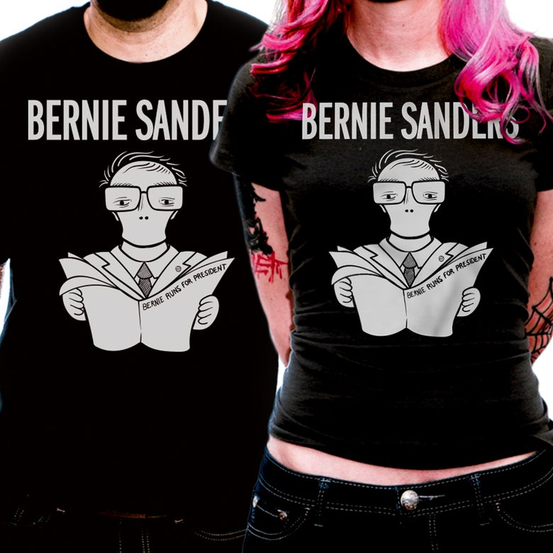 Image of 2020 Bernie Runs For President - Unisex
