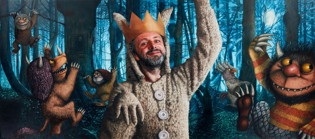 MICHAEL SHEEN AS MAX FROM 'WHERE THE WILD THINGS ARE' // LIMITED EDITION PRINT