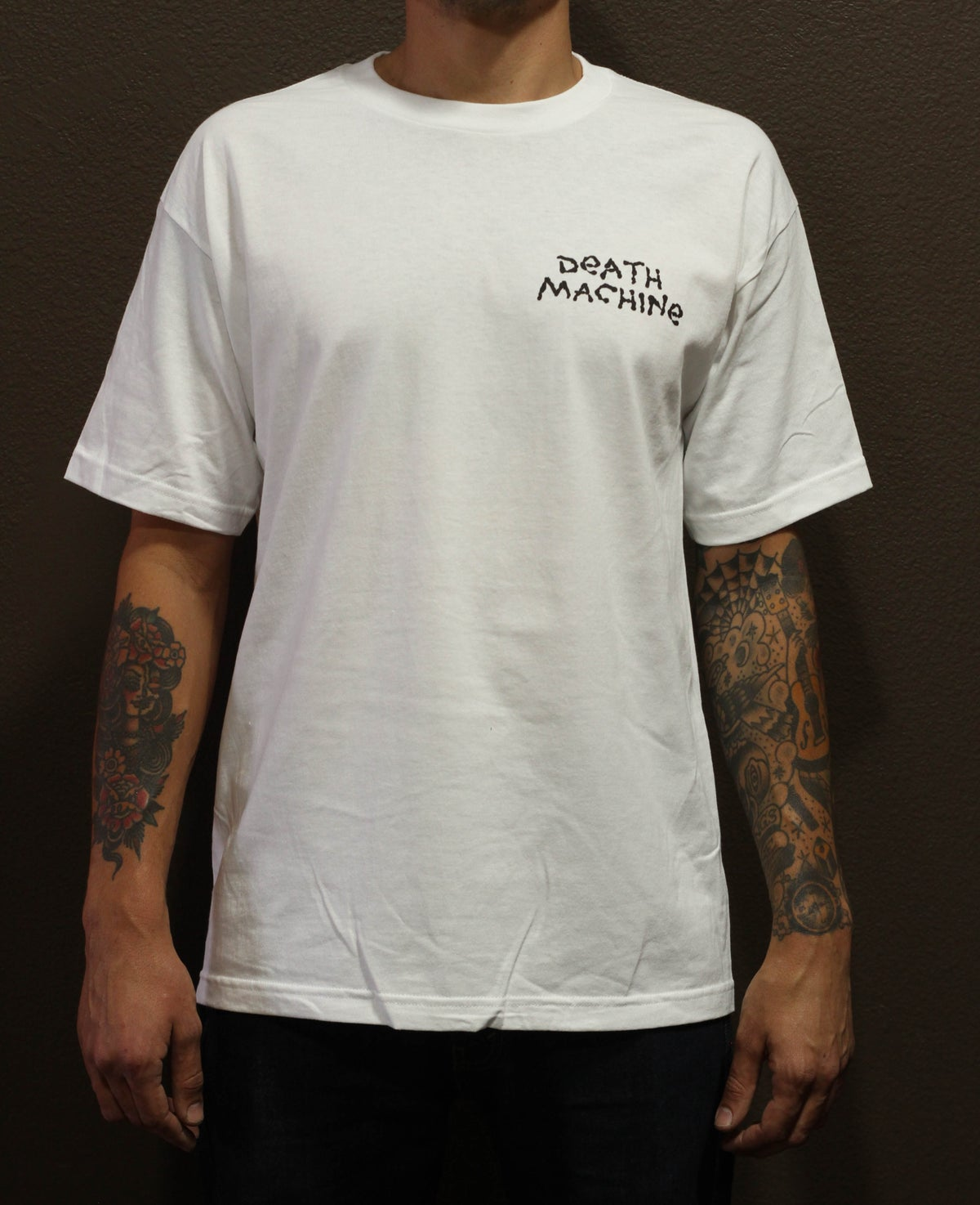 Image of REAP AND ROCK TEE (WHITE)