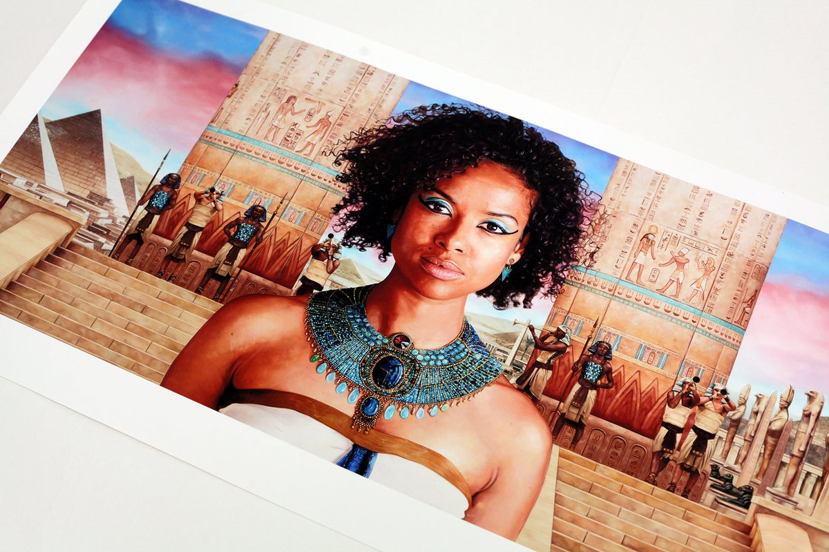 Gugu Mbatha-Raw as 'Cleopatra' // LIMITED EDITION PRINT