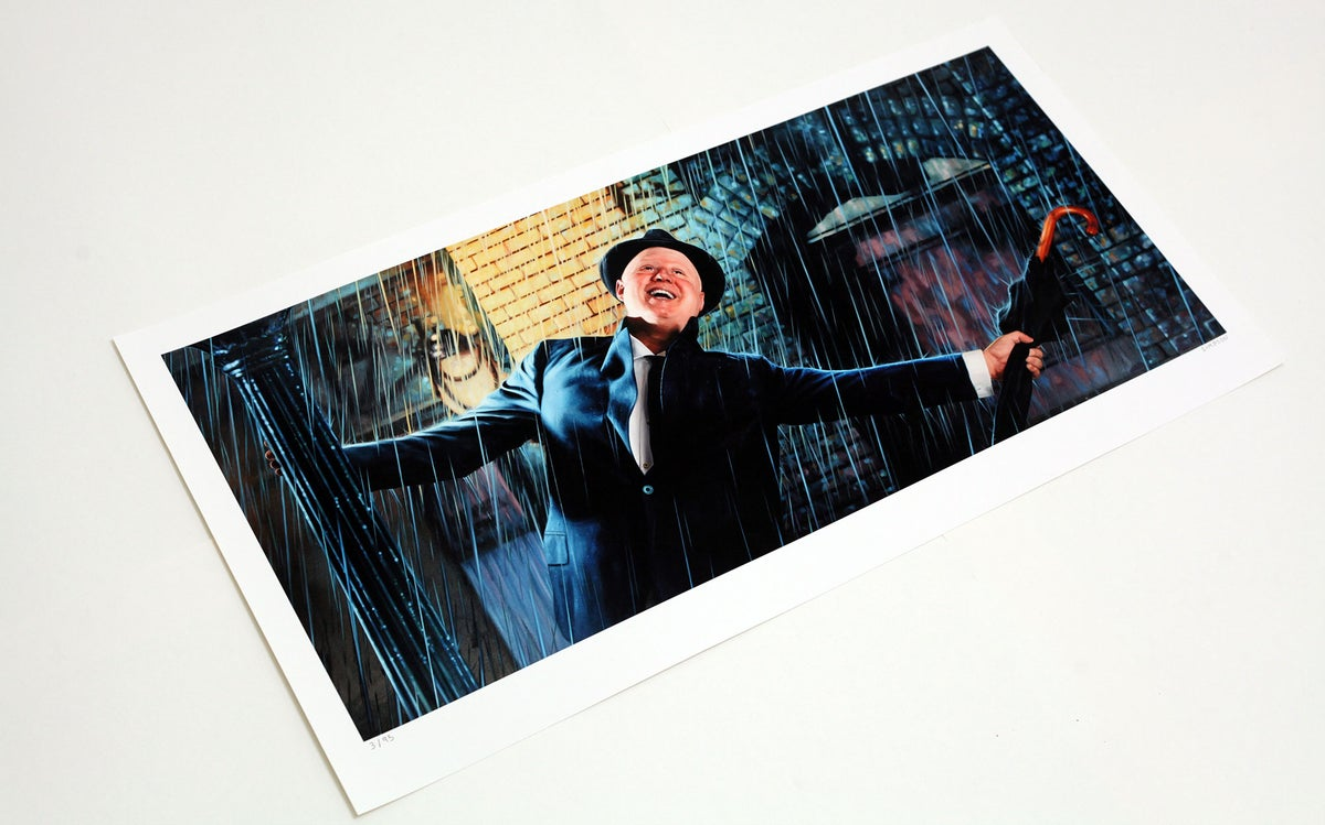 Matt Lucas as Don Lockwood from 'Singin' In The Rain' // LIMITED EDITION PRINT