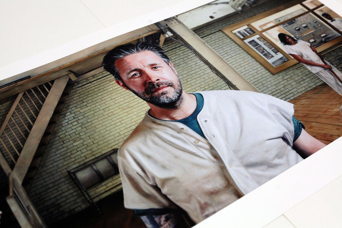 Paddy Considine as R.P McMurphy from 'One Flew Over The Cuckoo's Nest' // LIMITED EDITION PRINT