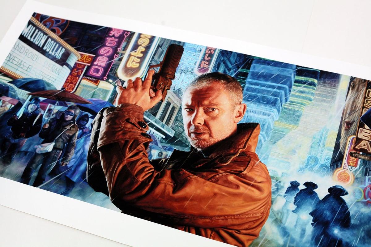 John Simm as Rick Deckard from 'Blade Runner' // LIMITED EDITION PRINT