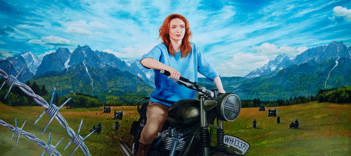 Eleanor Tomlinson as Hilts 'The Cooler King' from 'The Great Escape' // LIMITED EDITION PRINT