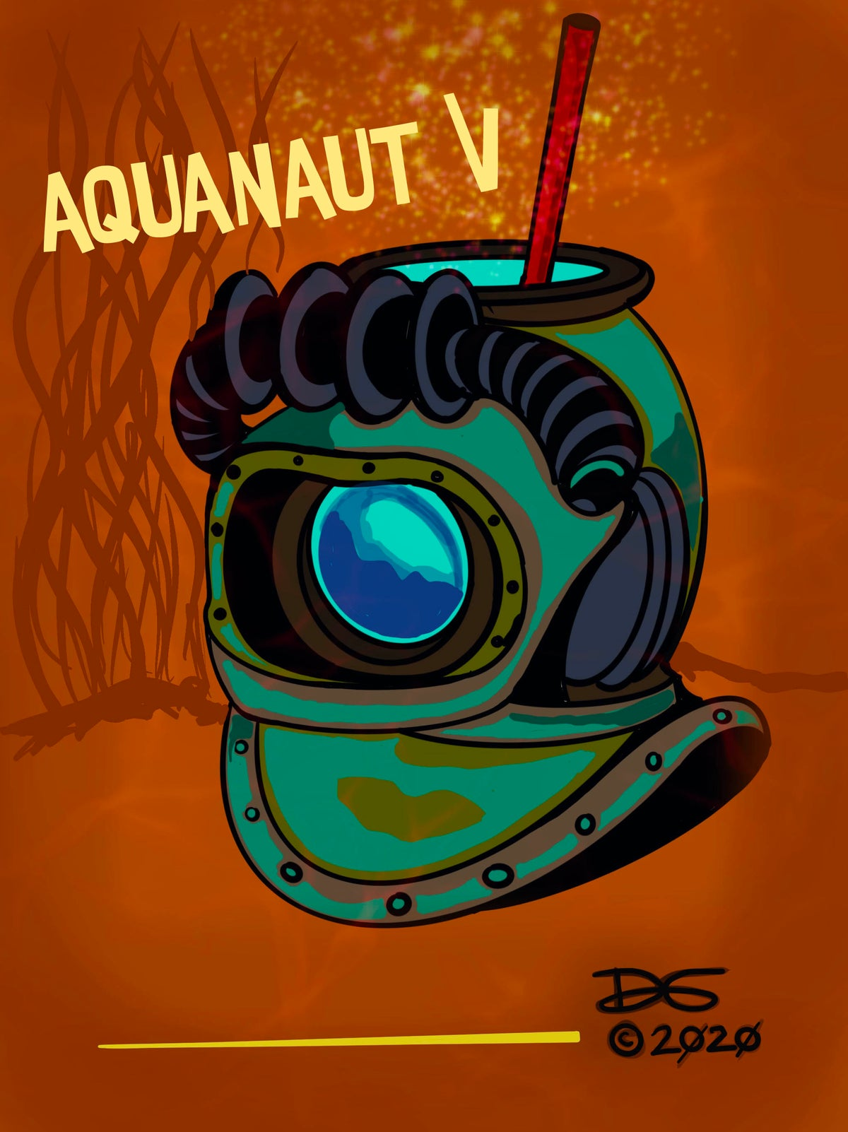 Image of SOLD OUT, thank you ! Aquanaut V Pre-Order JULY 2020