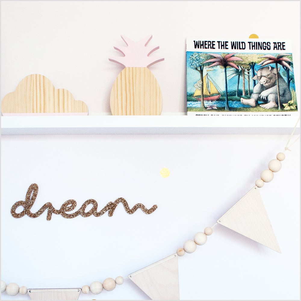 Image of Dream Glitter Sign
