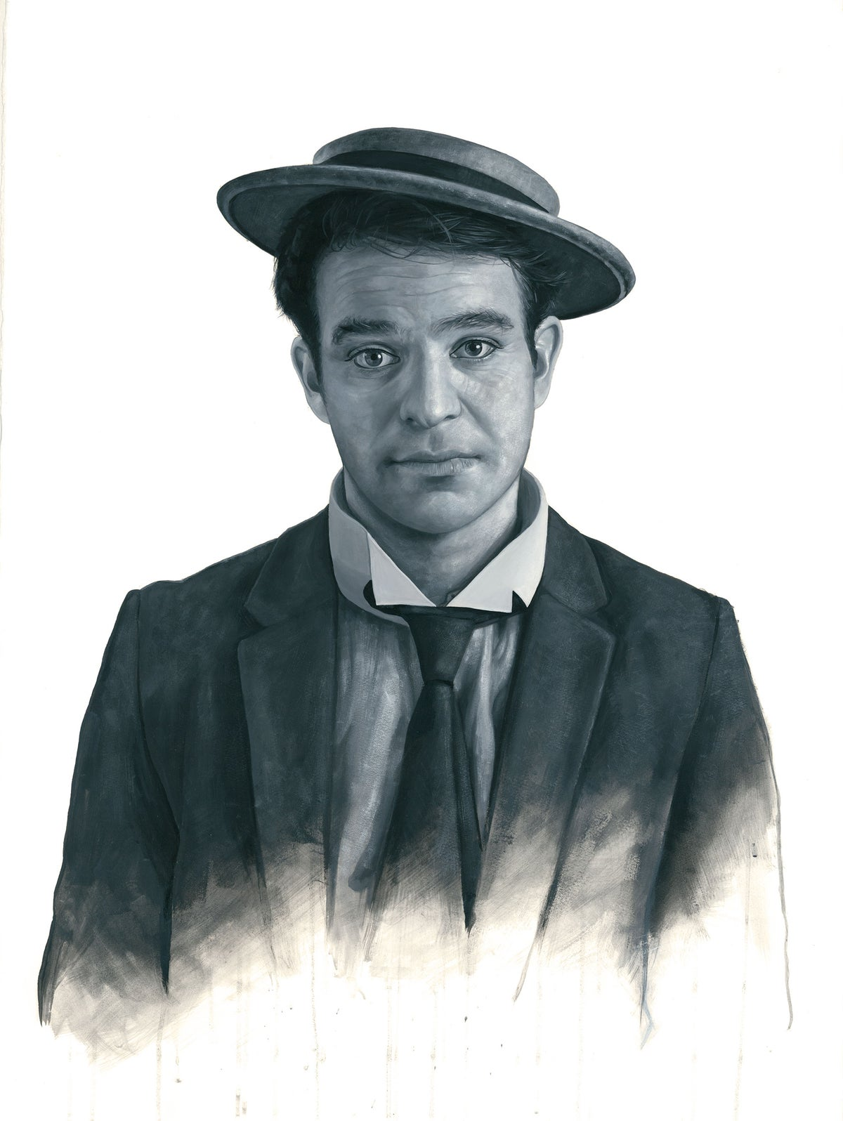 Charlie Cox as Buster Keaton // LIMITED EDITION PRINT