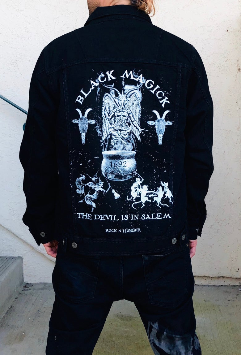 Image of Black Magick Denim Jacket