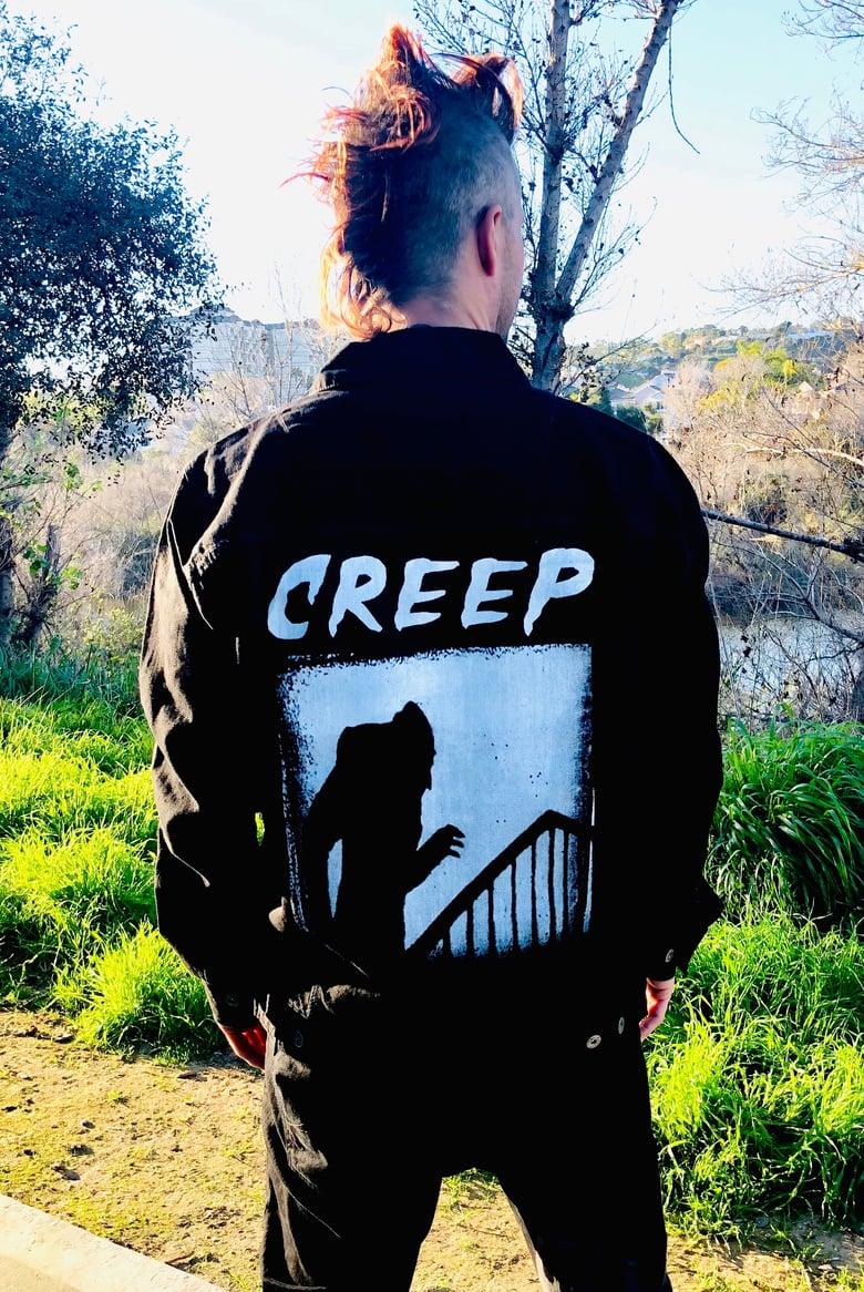 Image of CREEP - Denim Jacket