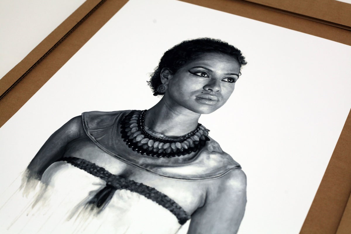 Gugu Mbatha-Raw as Cleopatra // LIMITED EDITION PRINT