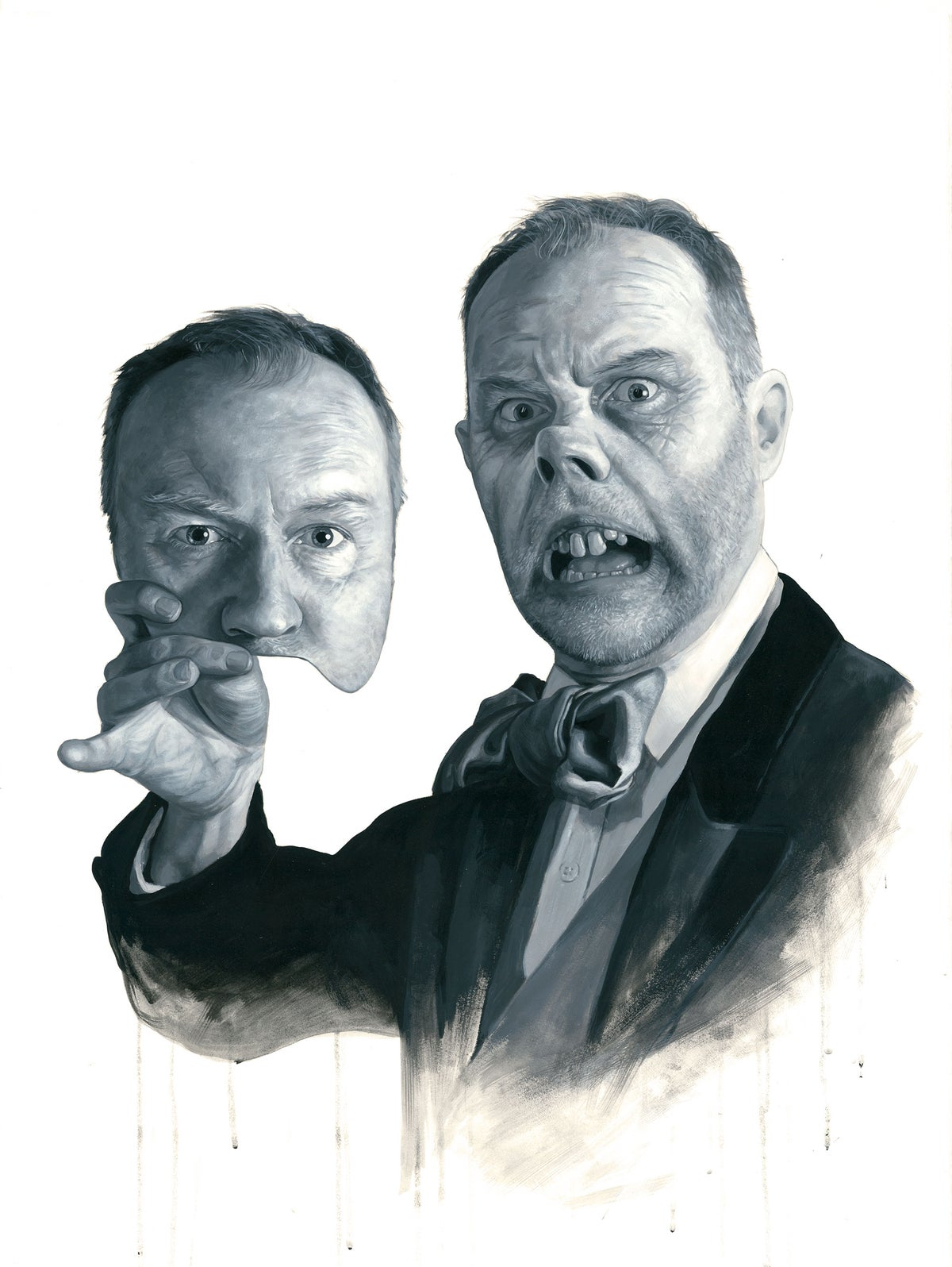Mark Gatiss as The Phantom Of The Opera/ / LIMITED EDITION PRINT