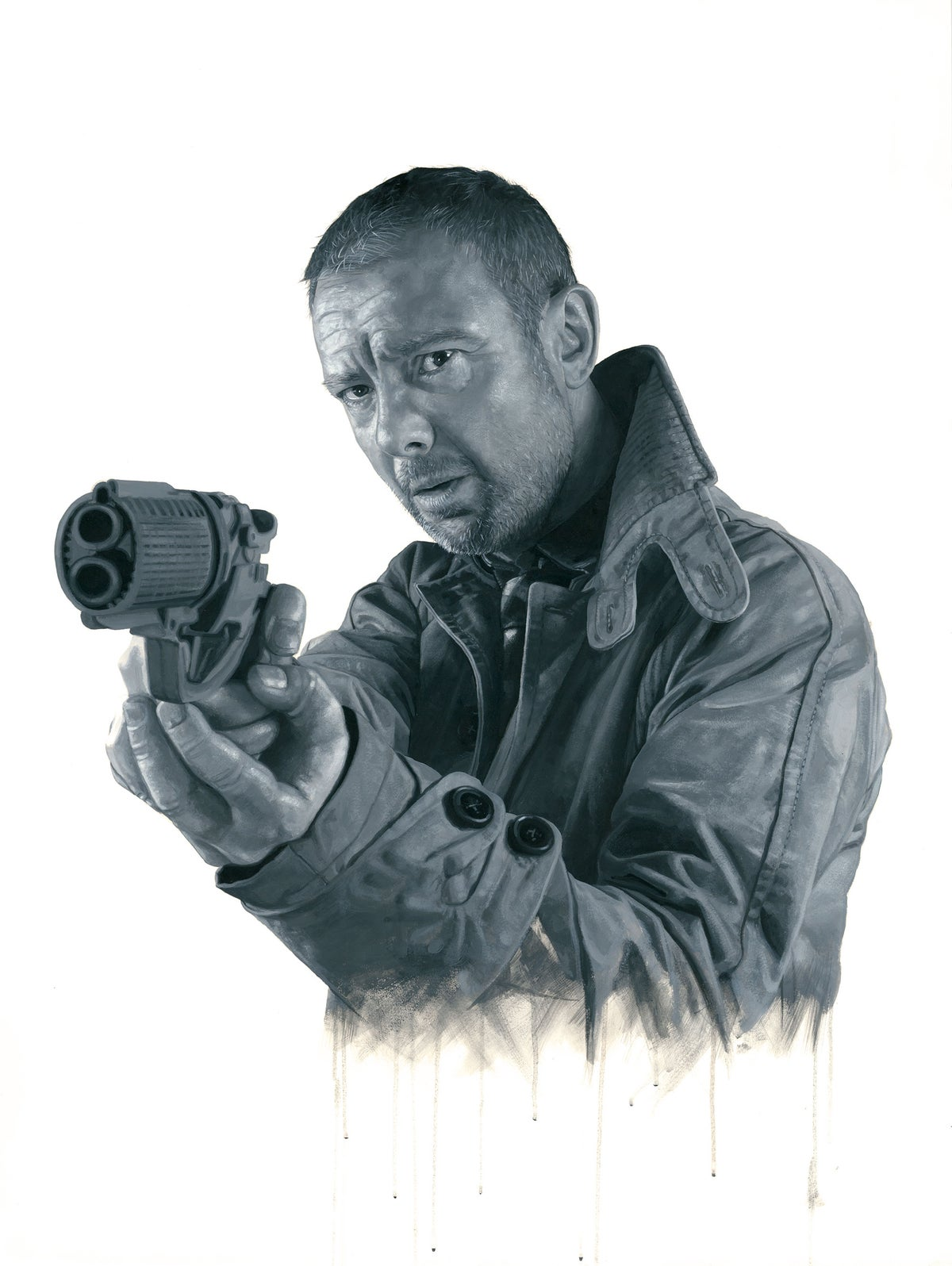 John Simm as Rick Deckard from Blade Runner