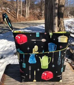 Image of Michael Miller sock bag #1