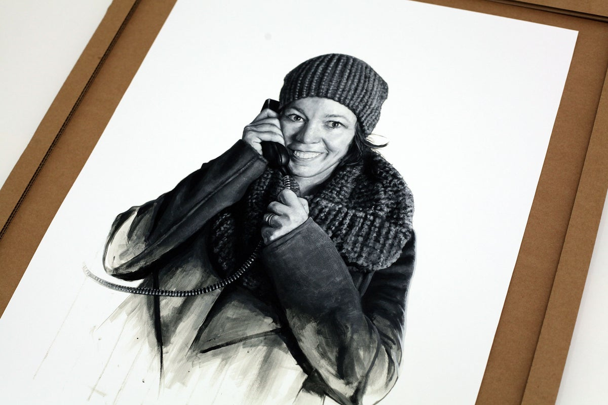 Olivia Colman as Bess from Breaking The Waves // LIMITED EDITION PRINT
