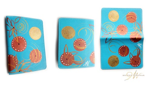 Image of Tropical Blue Passport Covers