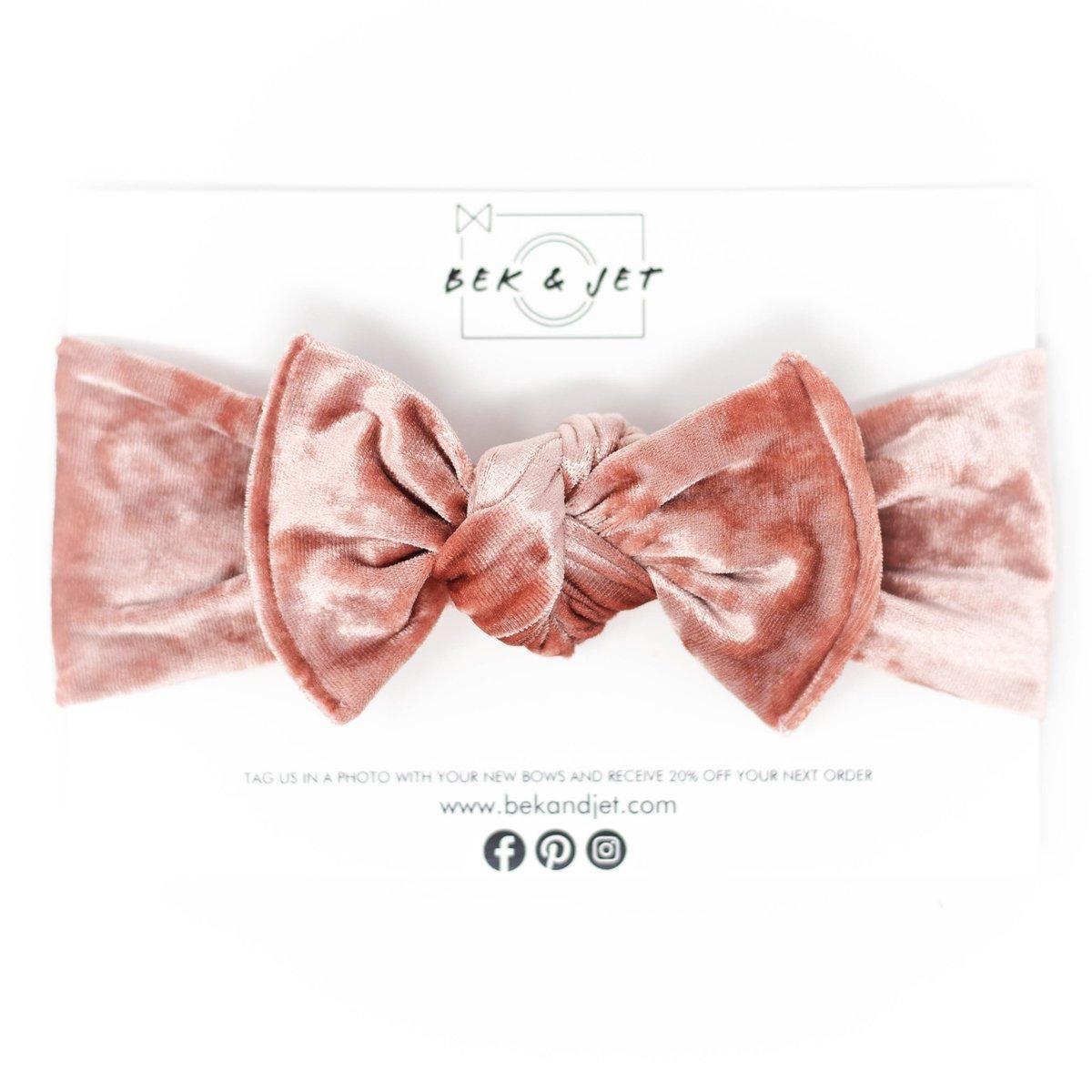 Image of Iridescent Rose Velvet | Headwrap