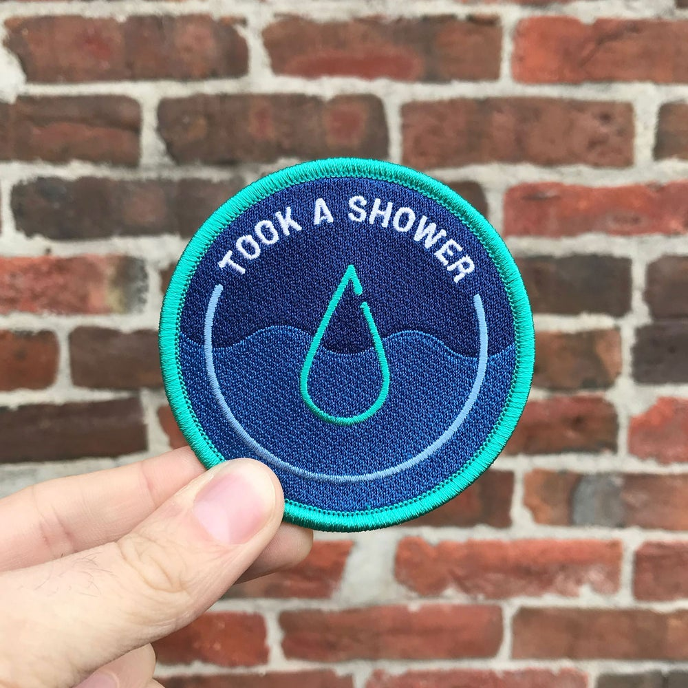 Image of Took A Shower - Work From Home Awards - Merit Badge