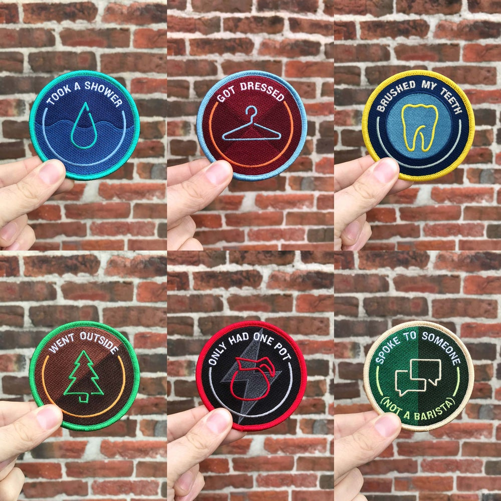 Image of Work From Home Awards - Merit Badge Set