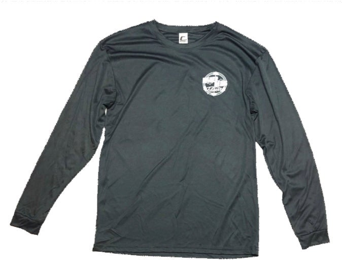 Image of Grey Higher Being Athletic Long Sleeve