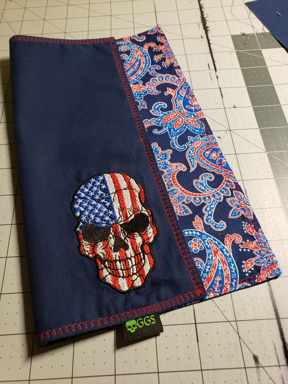 """Image of """"The Acquittal Edition"""" Patriotic Paisley"""