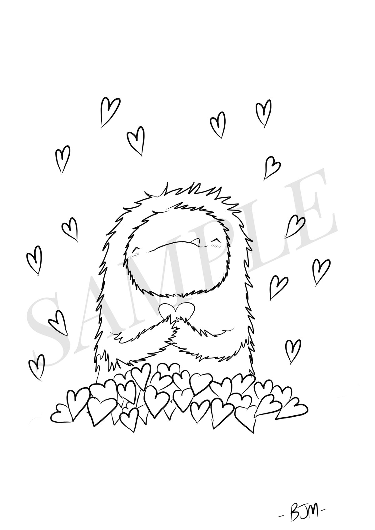 Image of Valentines Monster #3