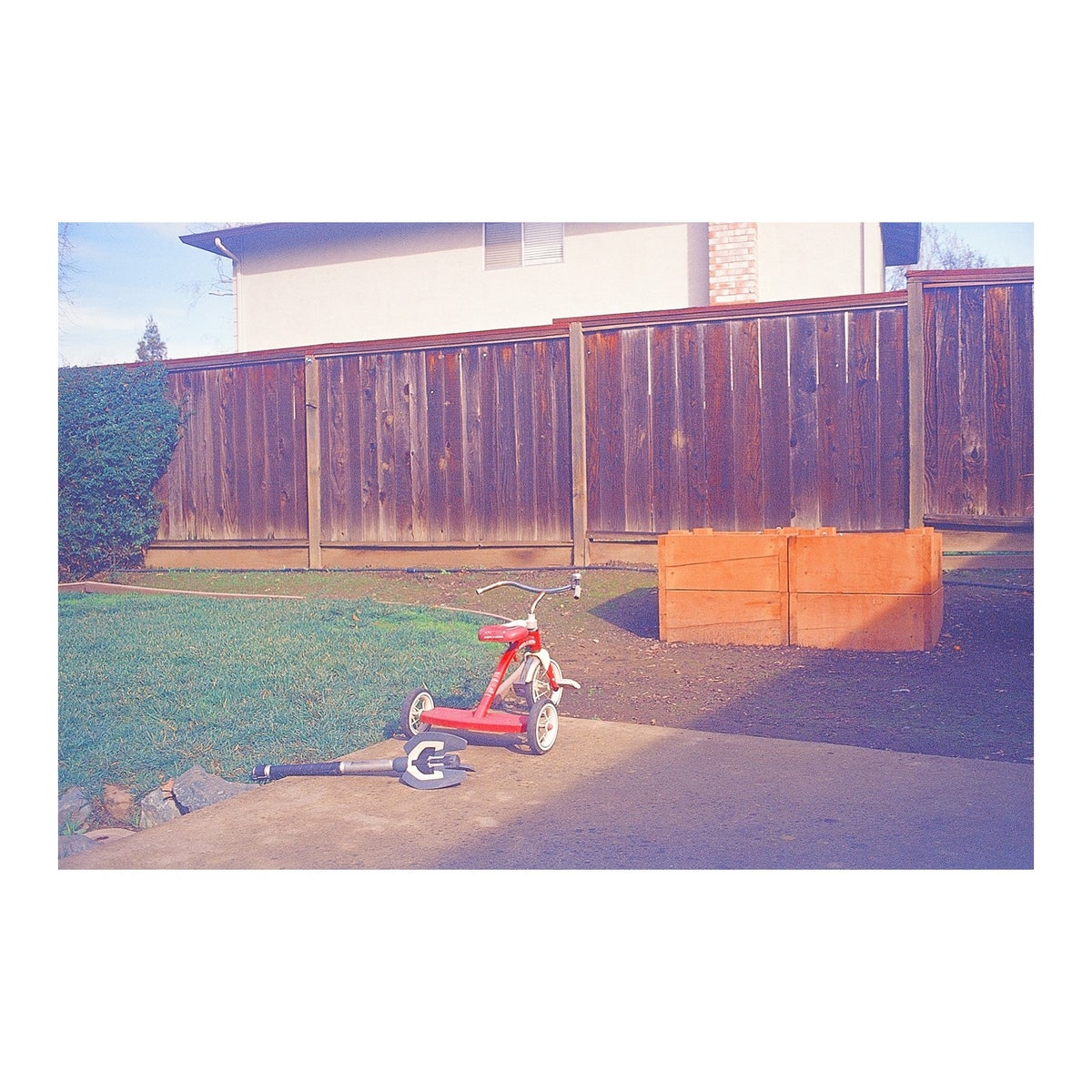 "Archival Color Print ""Radio Flyer, 1.19.20"", Various Sizes, Ready to Ship"