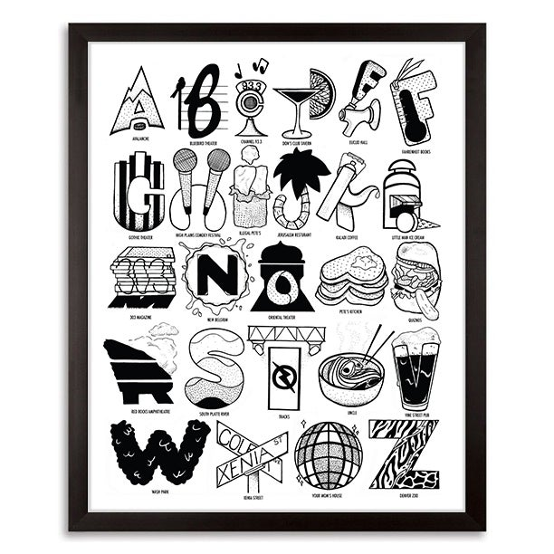 Image of Denver Alphabet