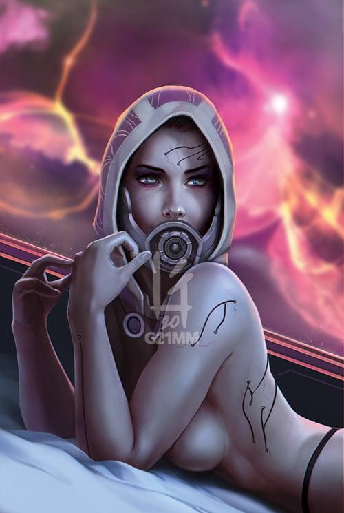 Image of Tali'zorah, Mass Effect Poster Prints