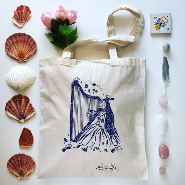 Image of Tote Bag *Harpe*