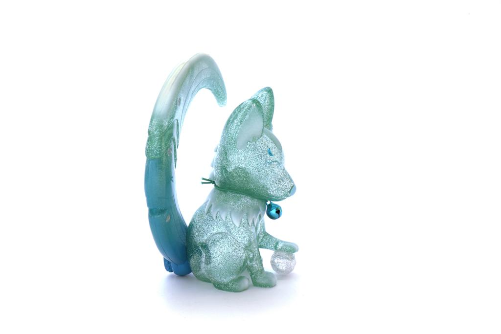 Image of KAMA KITSUNE AURORA GREEN EDITION