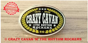 Image of NEW! CRAZY CAVAN 50th ANNIVERSARY PIN BADGE