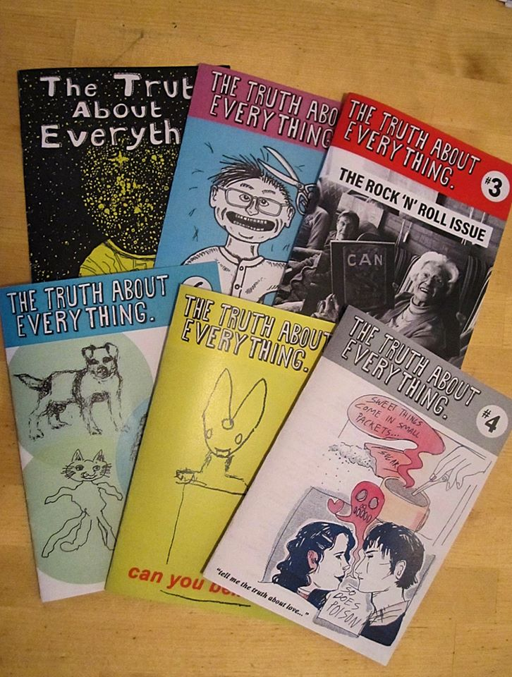 Image of The Truth About Everything Zine