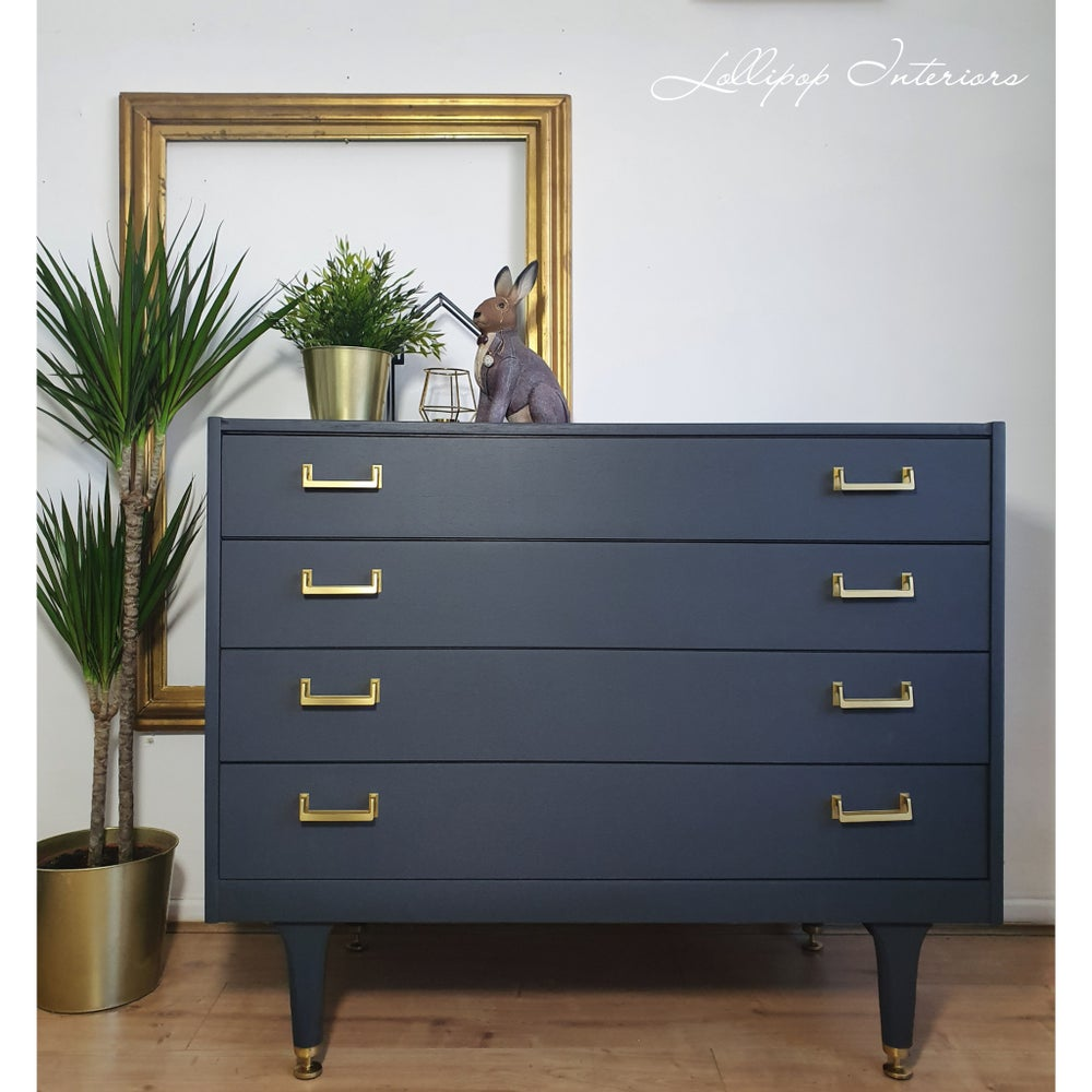 Image of G plan egomme chest of drawer