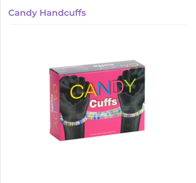 Image of Candy Handcuffs