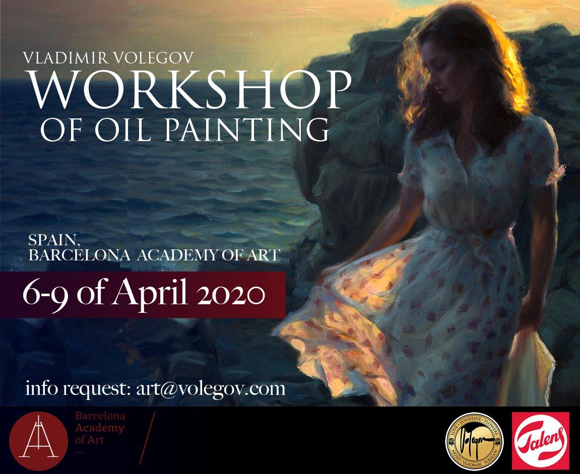 Image of Registration Fee for workshop in Barcelona, Spain 6-9 of April 2020