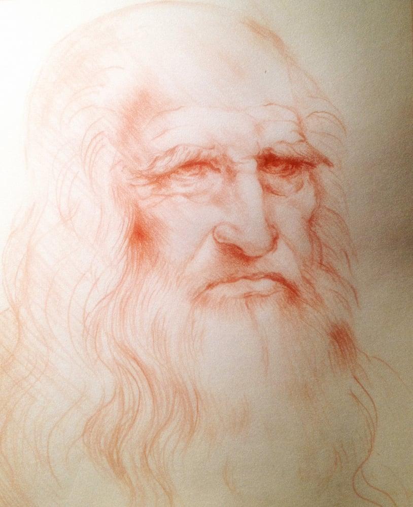 "Image of ""Self-portrait after Leonardo Da Vinci"""
