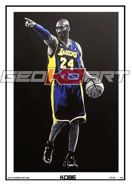 Image of KOBE BRYANT - LA LAKERS 24 BASKETBALL