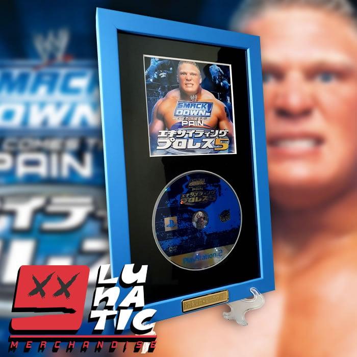 Image of WWE HCTP FRAMED JAPANESE EXHIBIT
