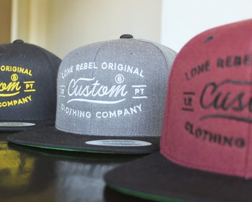 Image of CVSTOM Snapback grey