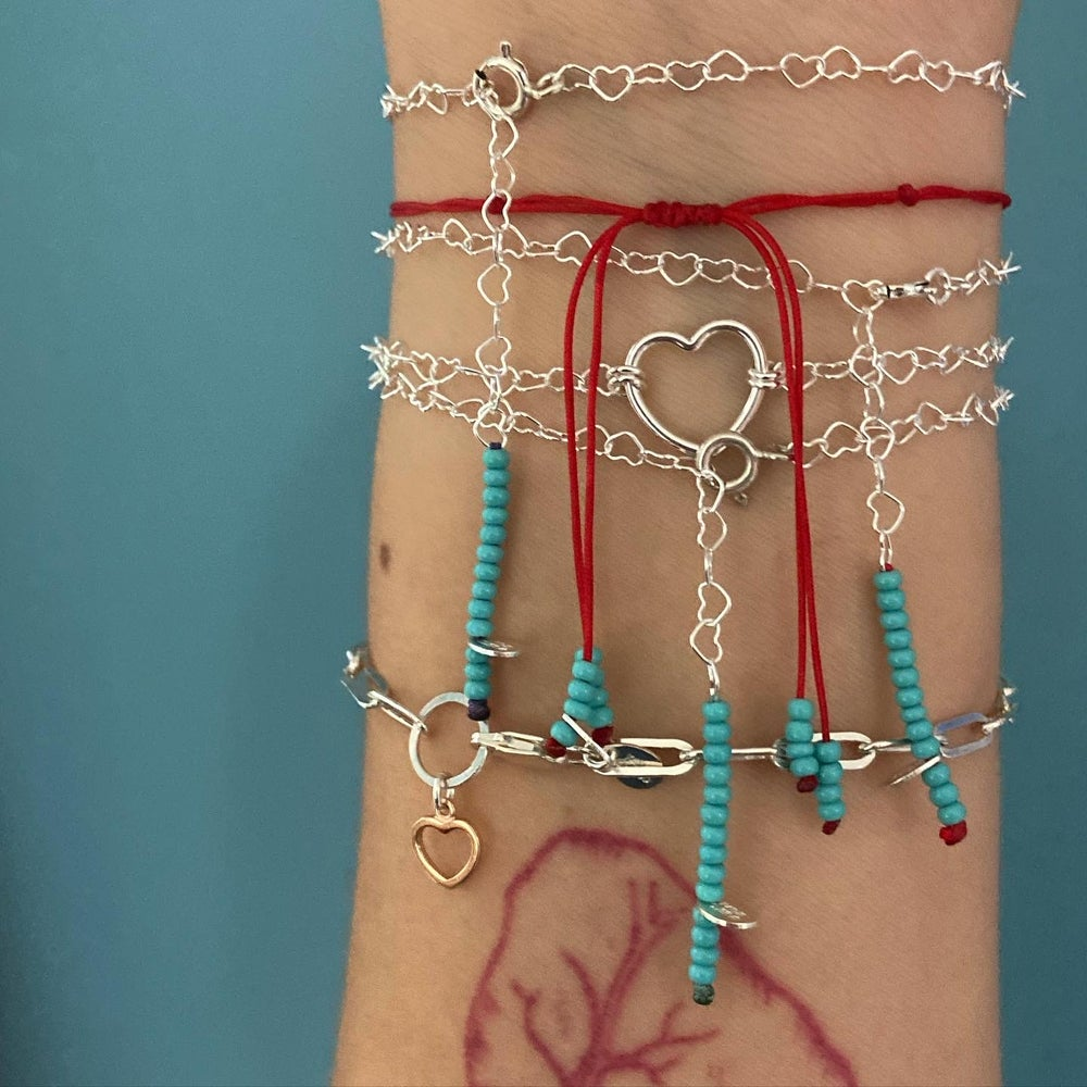 Image of All about hearts bracelet