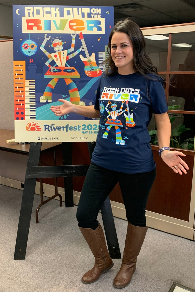Image of 2020 Iconic Riverfest T-Shirt