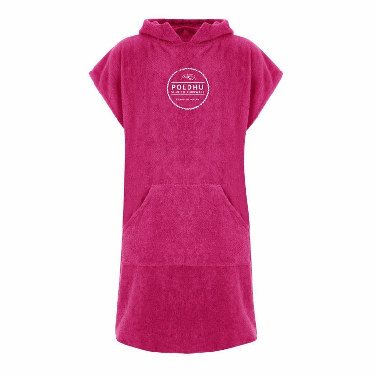 Image of HOODED CHANGING ROBE - PINK
