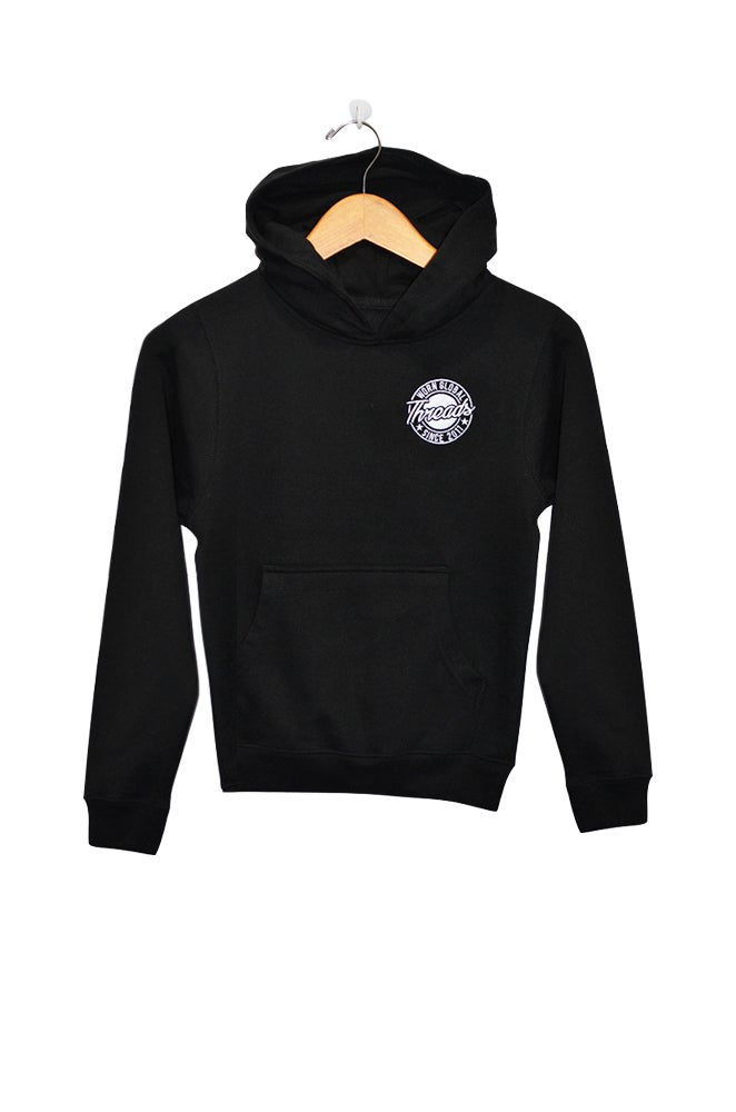 Image of Youth THREADS Black Hoodie