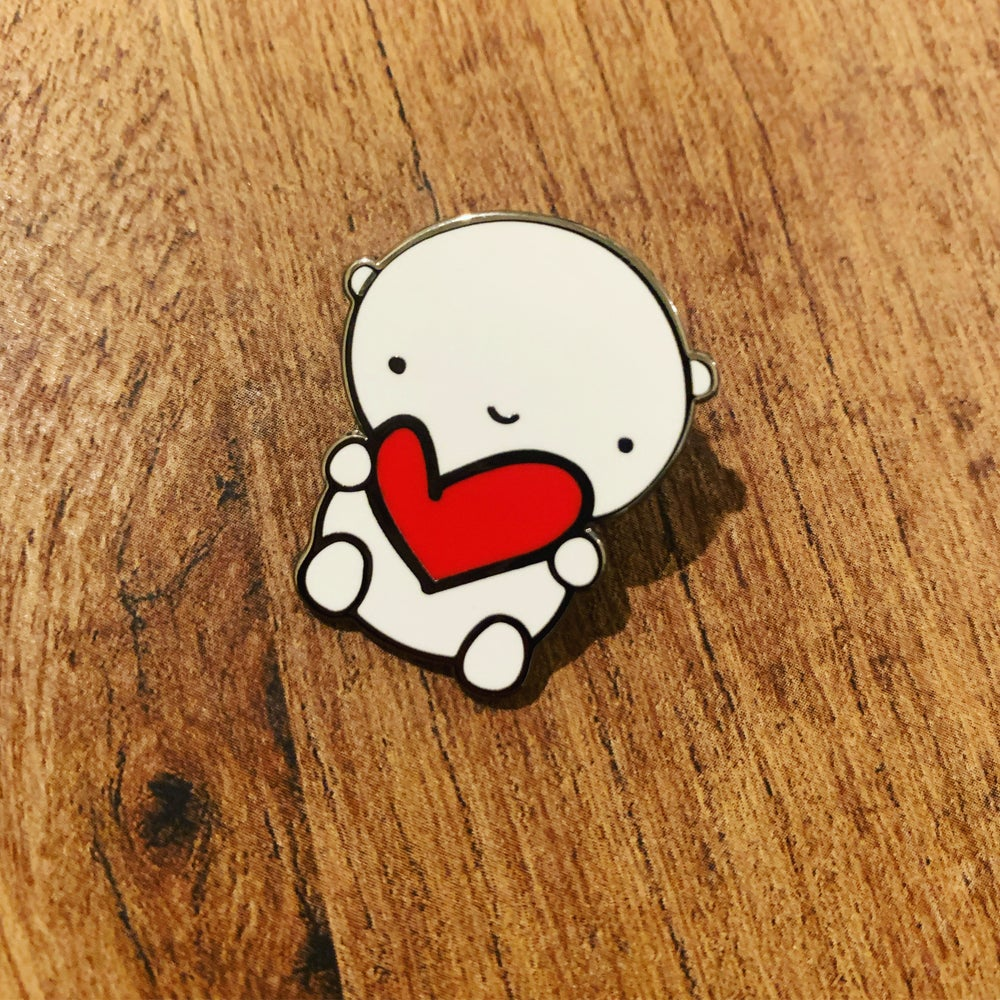ANDIE bear enamel pin