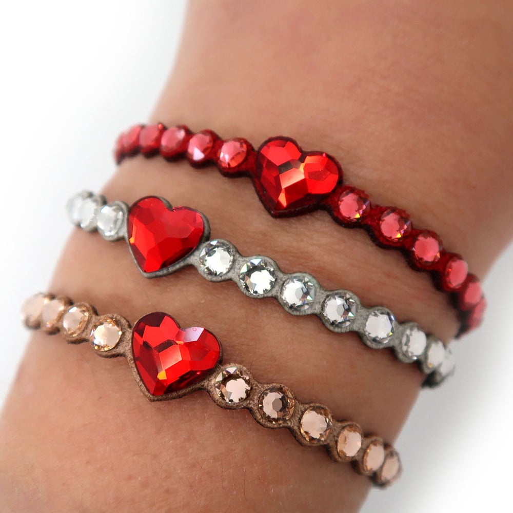 Image of BRACCIALE RED HEART PLUS