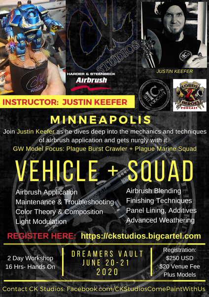 Image of Vehicle & Squad, Minneapolis with Justin Keefer (DATES TBA)