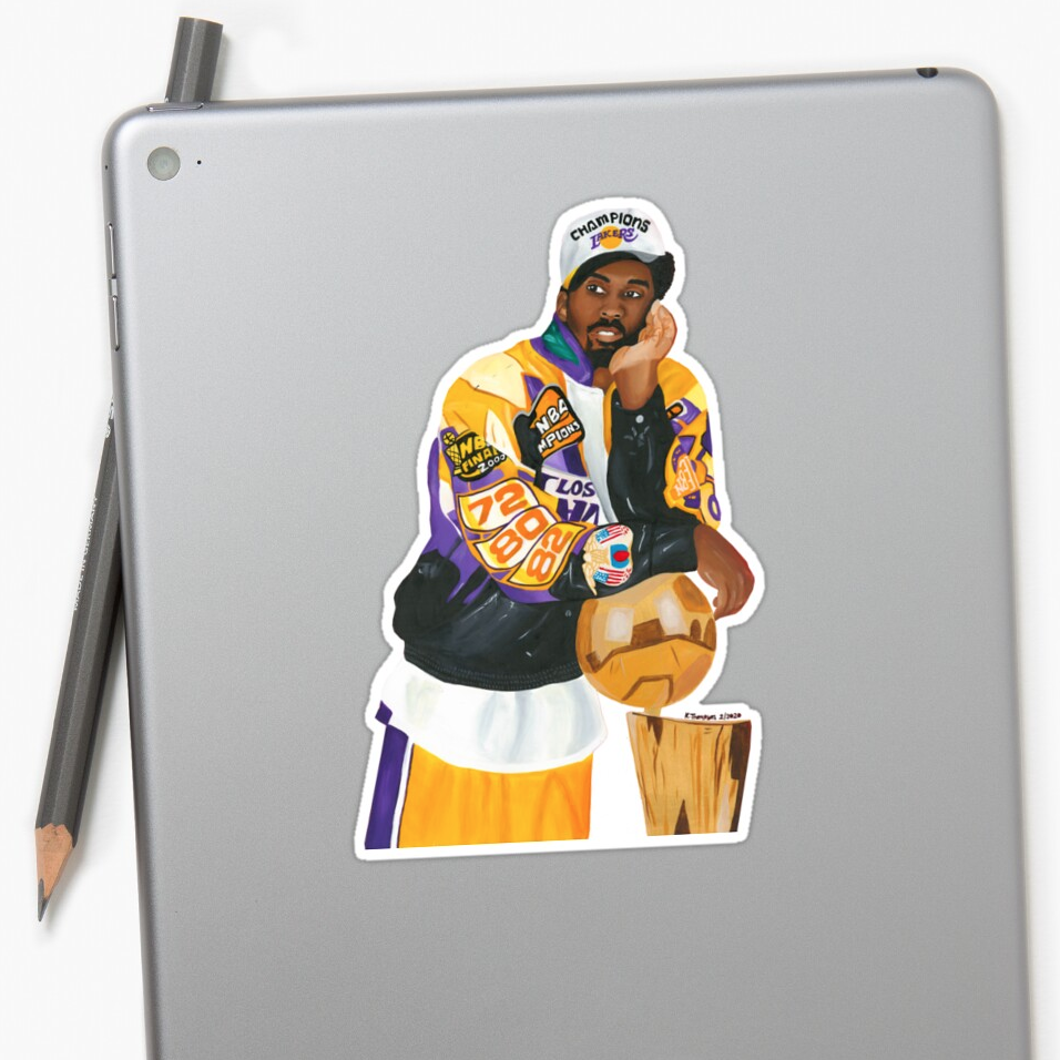 Image of Mamba Out (Stickers)